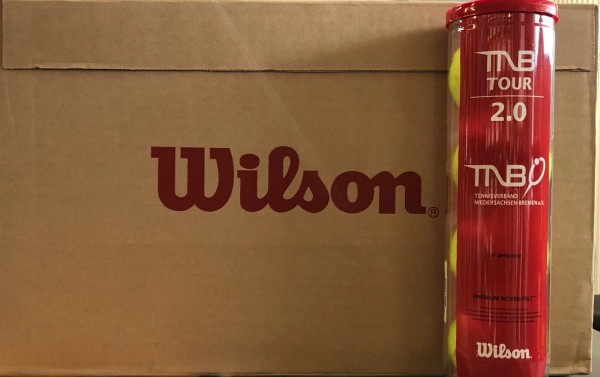Wilson TNB Tour 2.0 Tennisbälle 18x 4er Dosen