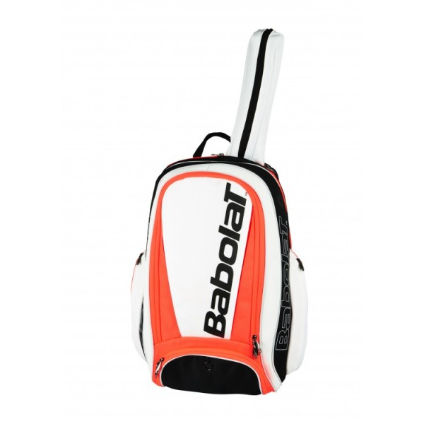 Babolat Pure Strike Tennis Rucksack weiß/neon orange
