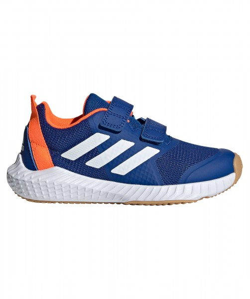 Adidas Kinder Forta Gym K Trainingsschuh Fitnessschuh blau-weiß-orange