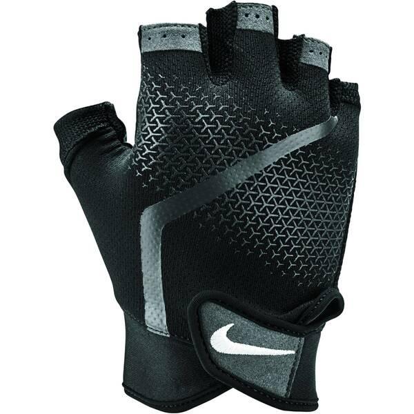 Nike Herren Extreme Fitness Gloves Fitnesshandschuhe schwarz-anthrazit-weiß