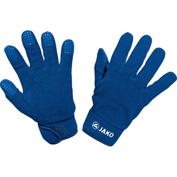 Jako Fleece Feldspieler Handschuh blau