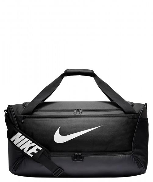Nike Brasilia M Sporttasche schwarz-weiß