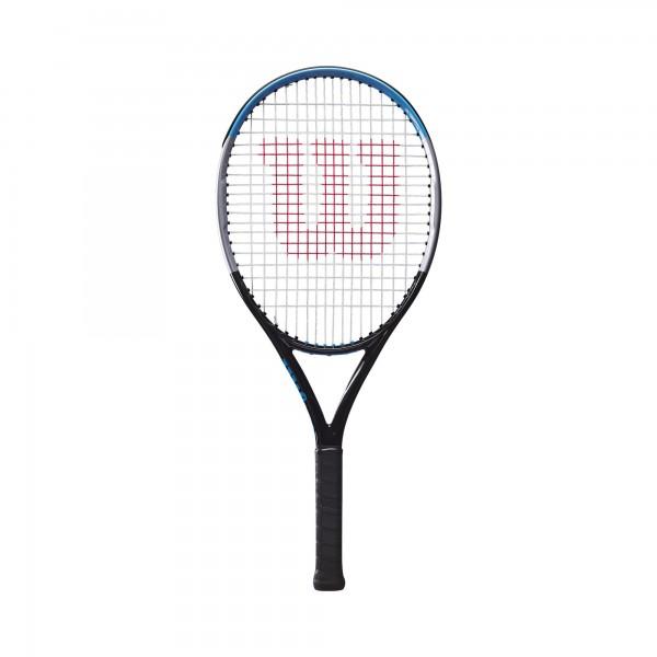 Wilson Ultra 26 V3.0 Kinder Tennisschläger schwarz-silber-blau