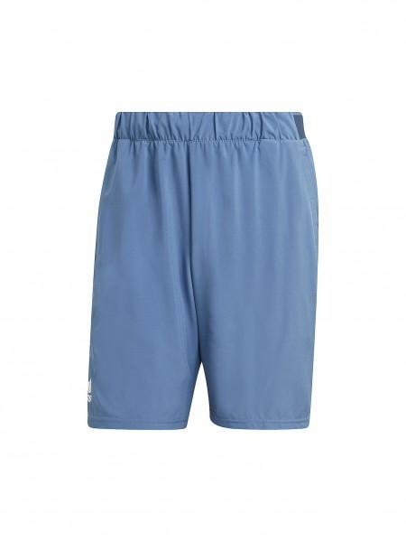 Adidas Herren Club Stretch Woven Tennisshort blau