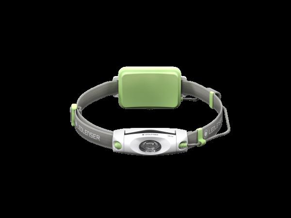 Ledlenser Neo 4 Stirnlampe Lauflampe grün