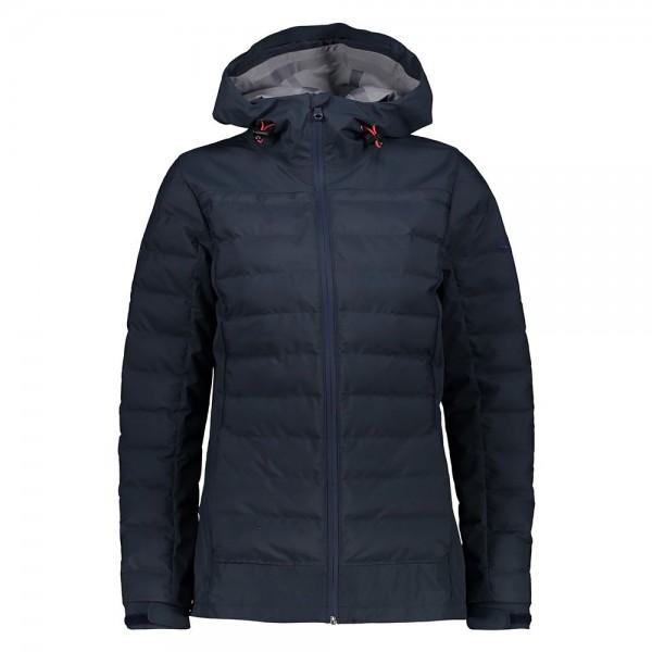 CMP Damen Outdoorjacke Jacket Fix Hood Black Blue