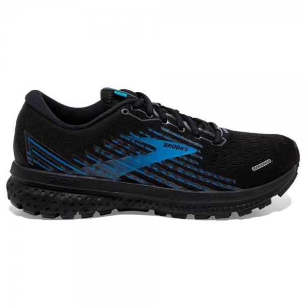 Brooks Herren Ghost 13 GTX Laufschuh Trailrunningschuh schwarz-blau