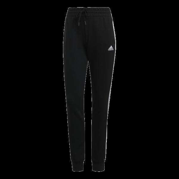 Adidas Damen French Terry 3-Streifen Core Jogginghose Sporthose schwarz-weiß
