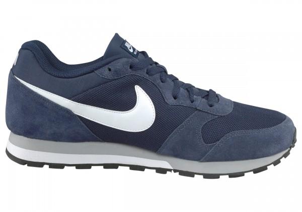 Nike Herren MD Runner 2 Laufschuh Freizeitschuh midnight navy/white-wolf grey