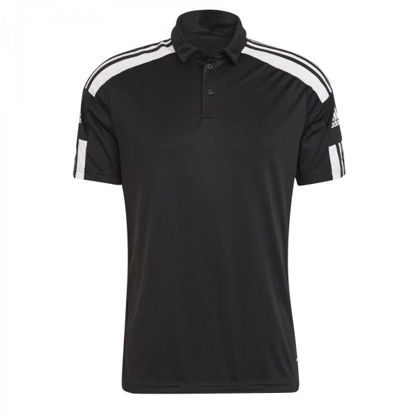 Adidas Herren Squadra 21 Poloshirt schwarz-weiß