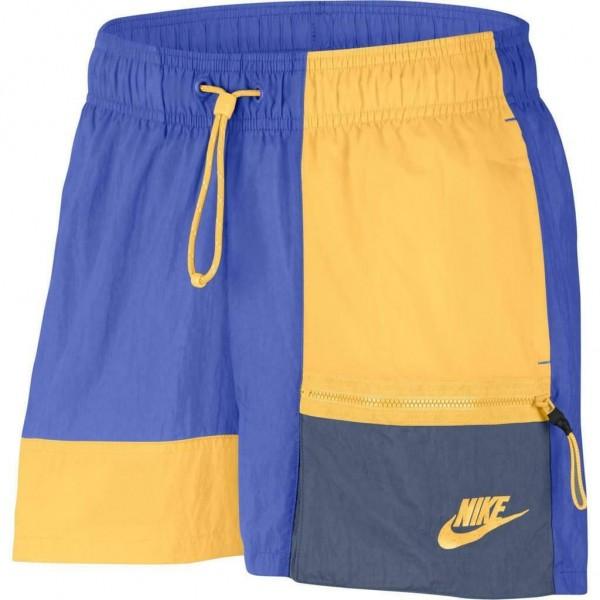 Nike Damen Sportswear Short blau-gold