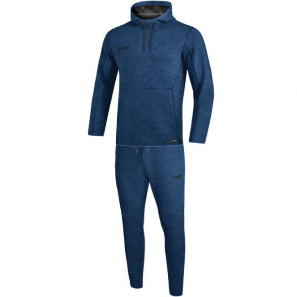 Jako Herren Fußball Premium Basics Jogginganzug dunkelblau