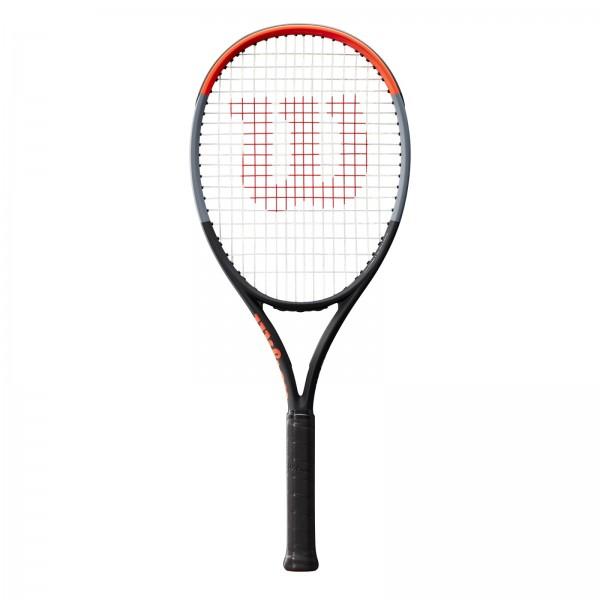 Wilson Clash 108 Tennisschläger schwarz-grau-rot
