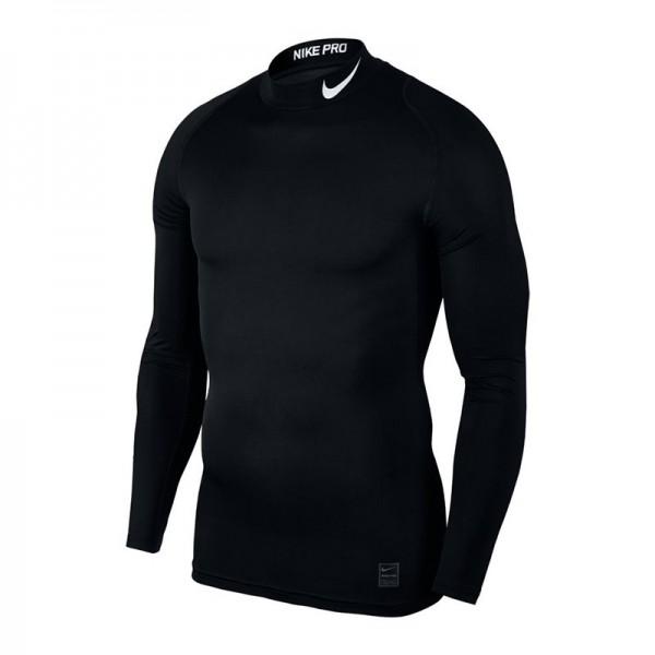 Nike Pro Langarm-Trainingsoberteil für Herren schwarz