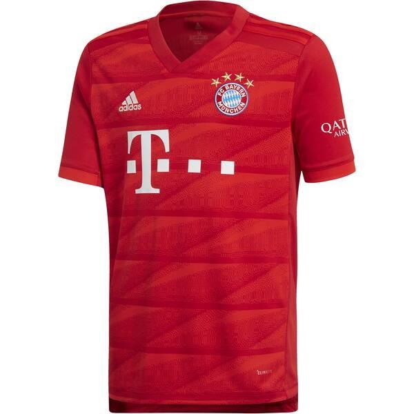 Adidas Herren FC Bayern München Heim Trikot rot