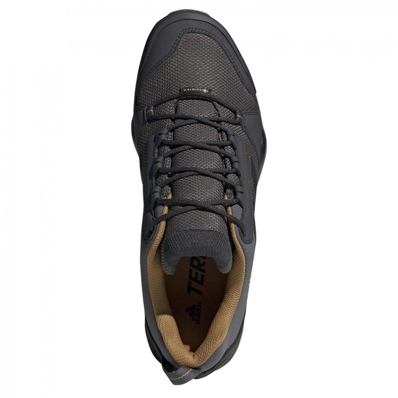 Adidas Herren Terrex AX3 GTX Outdoorschuhe grauschwarzbraun