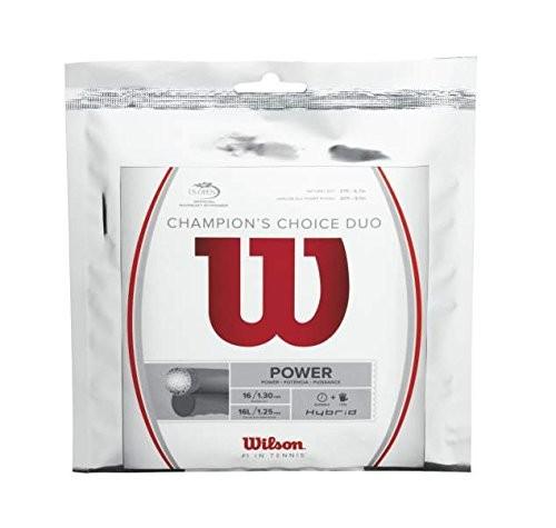 Wilson Tennissaite Champion's Choice Duo 12,2m natur/silber 1.30/1.25