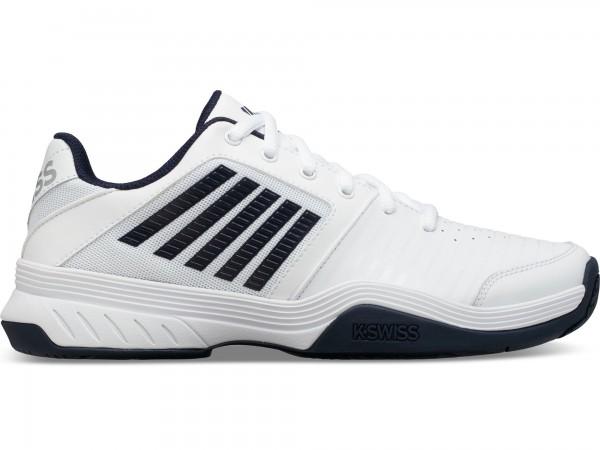 K-Swiss Herren Court Smash HB Tennisschuh weiß-dunkelblau