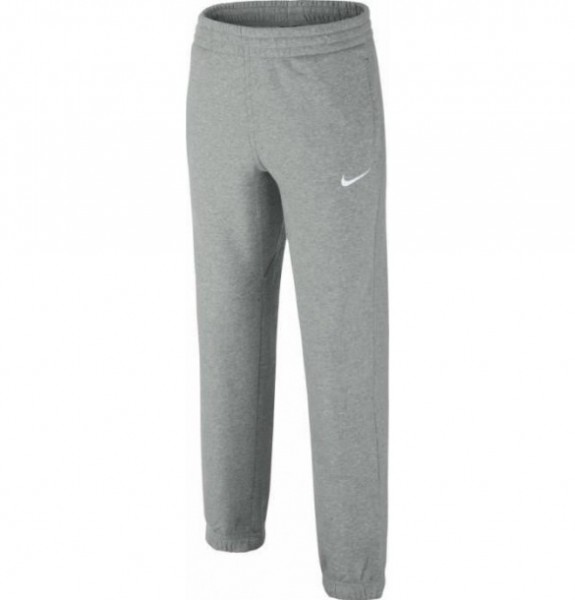 Nike Brushed Fleece Cufed Jungenhose grau