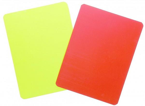 V3TEC Schiedsrichterkarten Set NEON rot/gelb