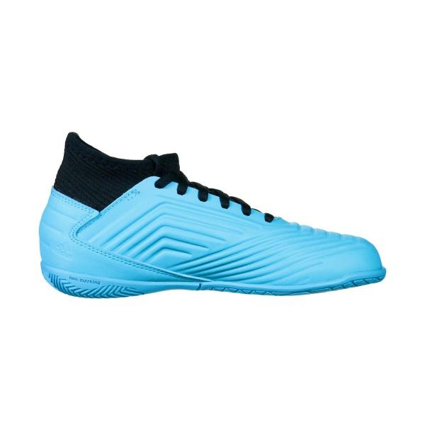 Adidas Kinder Predator 19.3 IN Hallenschuh hellblau-schwarz