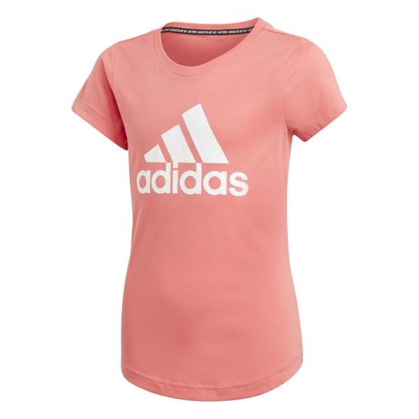 Adidas Kinder Must Have Badge of Sport T-Shirt Funktionsshirt pink