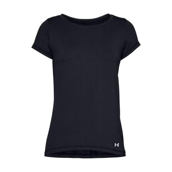Under Armour Damen HeatGear T-Shirt Funktionsshirt schwarz