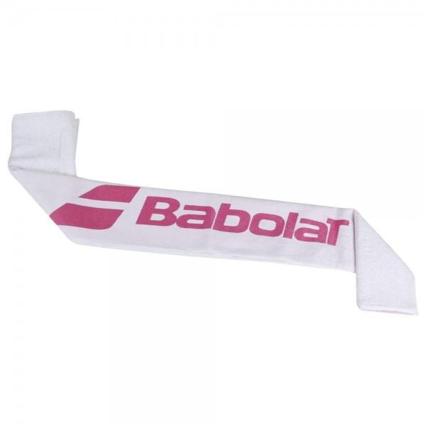 Babolat Tennis Handtuch weiß-pink