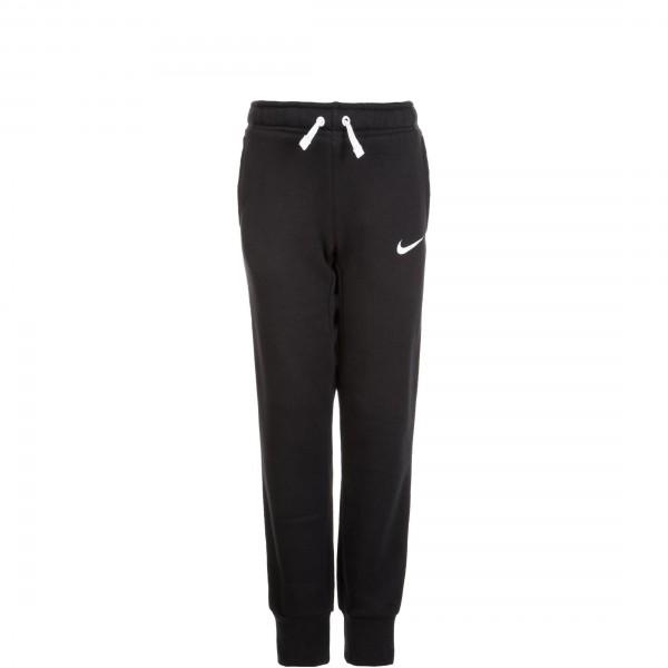 Nike Kinder Team Club 19 Trainingshose Jogginghose schwarz-weiß