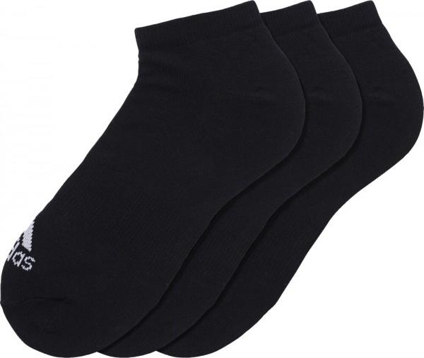 Adidas Socken 3PP No Show Thin 3er Pack schwarz